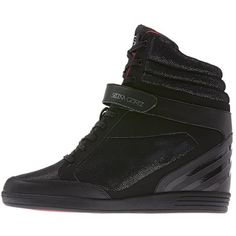 f8f52e2b5f89f0 Adidas Selena Gomez Super Wedge Hi Shoes ( 42) found on Polyvore Adidas Neo  Sneakers