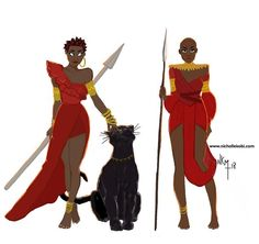 I am in love with Black panther illustration New week coming up meet it like the warrior you are Black Panthers, Deadpool, Marvel Art, Marvel Dc Comics, Black Women Art, Black Art, Wakanda Marvel, Culture Pop, Mundo Comic