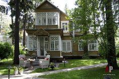 Фото фасада дома в стиле Прованс