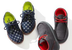 Cool Kicks for Tiny Tots -   Your little ones are growing constantly, so it doesn't always make sense to splurge on shoes when they'll grow out of them in a flash. This wide range of sneakers, lace-ups, slip-ons and more offers the most fashionable styles for toddlin' toes at a fraction of the price.     ...  #Boot, #Bootie, #Charm, #Chukka, #Espadrille, #FauxFur, #Laceup, #SlipOn, #Sneaker