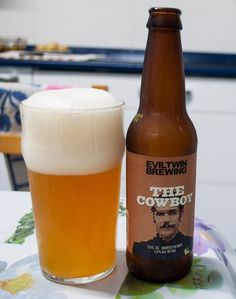 Evil Twin The Cowboy. Evil Twin, Corona Beer, Beer Bottle, Brewing, Twins, City, Blog, Denmark, Cubes