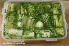 여름에 먹는 최고의 김치~오이물김치 – 레시피 | 다음 요리
