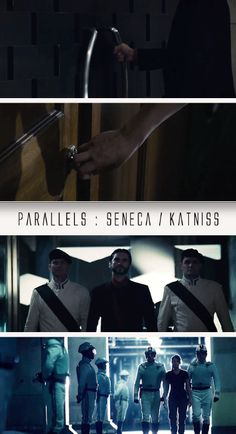 click to see the parallels between Seneca Crane and Katniss.