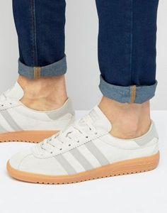 adidas Originals Bermuda Sneakers In Brown BB5269