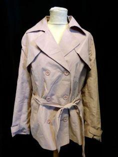 01b8750a0e80 HARRIETS-BOUTIQUE-Womens-Light-Pink-Wrap-Tie-Lightweight-Summer-Jacket-XL- BNWT