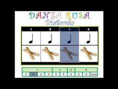 Danza Rusa. Tchaikovsky - YouTube Preschool Music, Music Activities, Teaching Music, Listening To Music, Writing Activities, Drum Lessons, Music Lessons, Music Flashcards, Music Maniac