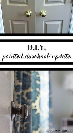 DIY door hardware up