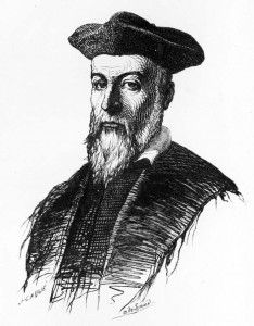 French physician and astrologer, Nostradamus, was born on Dec. 14, 1503.