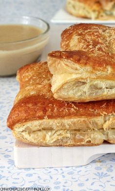 Layers of buttery, flaky, melt-in-your-mouth pastry wrapped around a decadent chicken, broccoli and cream cheese filling