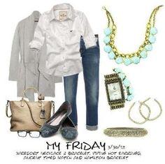 LOVE, LOVE, LOVE casual fridays! by Judith Maxine