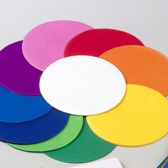 Tissue Paper Circles-http://www.homecrafts.co.uk/paper-crafts/craft-paper/tissue-crepe