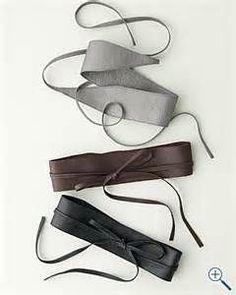 Obi belt (Eileen Fisher) | apparel / style | Pinterest