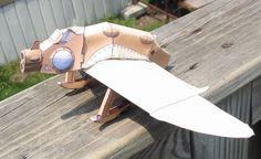 Cel Shaded Nausicaa Gunship