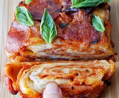 "I was inspired by the beautiful layers and textures of a Babka bread, so I figured why not try it out on a pizza. I had been dreaming about these nice fluffy layers and swirls of bread with tomato sauce and cheese. And it came out just the way that I had imagined...with perfect pull-apart layers of pizza!!Usually, I like to try to make the dough, but for pizza and bagels I prefer to buy it from the best local place I know. For me, I love ""Best Pizza"" right down the street to me in B..."