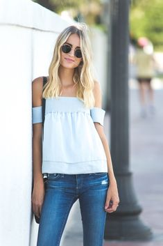 I knew when I saw this Rebecca Minkoff top, that it would quickly become a staple in my rotation. I wear it more often than ...