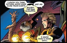 Rocket Raccoon and Peter Quill have a very special relationship.
