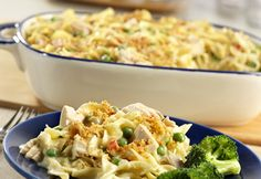 Campbell's Classic Tuna Noodle Casserole Recipe... There are many reasons this casserole is a classic...it's comforting, easy to make, and oh so yummy!