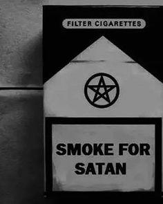 Smoke for satan.  #occult #satan #satanic #hailsatan #nogodsnomasters #pentagram #baphomet #ritual #devil #lucifer #lefthandpath #godfree #kvlt #looksthatkill #laveyansatanism #mood #ritual #blackmagic #witchcraft #blackandwhite #666 #satangirl #sadism #mazoşist #satanicbible #metalmusic