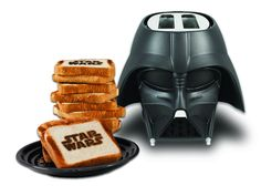 Darth Vader Toaster: Luke I Am Your Toaster! Get it HERE: http://www.thegiftsformen.com/darth-vader-toaster.php