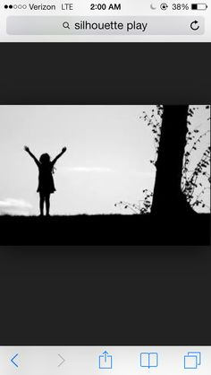 Yes. Love this kiddo silhouette. #freedom #happy #fun #proud