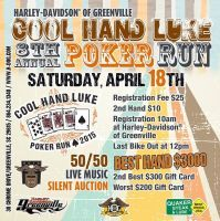 Greenville poker run