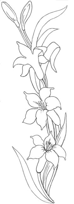 moldes de flores - Google Search Ribbon Embroidery, Embroidery Patterns, Colouring Pages, Coloring, Satin Stitch, Paint Designs, Applique Designs, Fabric Painting, Flower Patterns