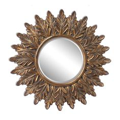 DFeatures Star shaped mirror with intricate frame work. Sun Mirror, Peacock Theme, Star Shape, Timeless Fashion, Antique Gold, Accent Decor, Illusions, Wall Decor, Wall Mirrors