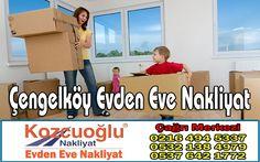 Çengelköy Evden Eve Nakliyat - Kozcuoğlu İstanbul Çengelköy Nakliyat Fiyatları