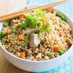 Skinny Chicken Fried Rice Recipe - Skinny Mom & ZipList