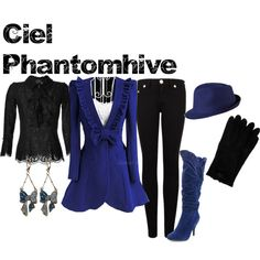 """Ciel Phantomhive from Black Butler"" by animeinspirations on Polyvore"