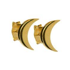 Syster P Örhänge Sparkle Moon Gold