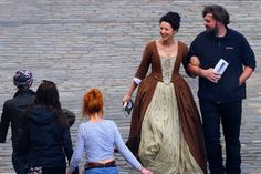 *NEW* Pics of Sam and Cait Filming Outlander S2 (6/3/15) |
