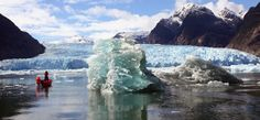 laguna de san rafael norte de la patagonia chile