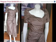 25 OFF Vintage 1950s Champagne Mauve Color by WestCoastVintageRSL, $126.00