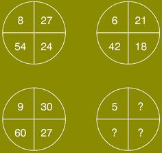 Which number replace the question mark ? Puzzle ID - 1076 Math Riddles With Answers, Brain Teasers With Answers, Brain Teaser Questions, Math Questions, Brain Teasers Pictures, Math Competition, Iq Puzzle, Math Enrichment, Math Challenge