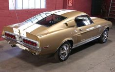 1968 Mustang Shelby GT 500