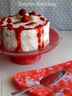 Προσωπικό Ημερολόγιο Αλμυρών Και Γλυκών Δημιουργιών Vanilla Cake, Sweet Recipes, Cheesecake, Pudding, Easter, Desserts, Greek, Food, Cakes