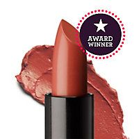 """I have fallen in love with this color! Perfect """"nude"""" for a redhead with a hint of coral when worn. At least on me anyway! Sweet Apricot by Bare Minerals"""
