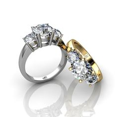 Engagement Rings, Design Your Own Engagement Ring, Diamond Jewelry, Solitaire Settings