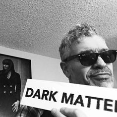 Dennys Ilic - @dark_mattertv airs tomorrow! Who's that hanging on my wall? One guess .... She also directs eps of #darkmattertv as well as being a gorgeous and talented actress ...