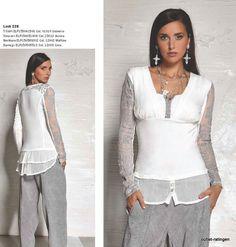 ELISA CAVALETTI  Shirt  Universo/Ecru  XXL  Frühjahr/Sommer 2015