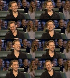 Tom Hiddleston The Ehehehe Fest of 2014 on Top Gear From http://hiddlesdame.tumblr.com/post/76147125550/isurvivedthefall-tom-hiddleston-smiling-top