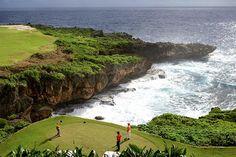 Scenic views while you golf in Saipan