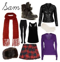 """Sam - until dawn"" by ellie-r-horton ❤ liked on Polyvore featuring mode, Victoria, Victoria Beckham, Hallhuber, Pieces, VIPARO, Cruciani, Rock & Candy, Johnstons of Elgin en untildawn"