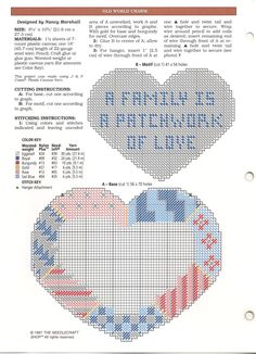 Patchwork Family Heart 2/2