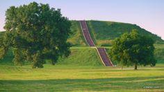 Cahokia Monks Mound Front
