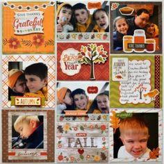 My Creative Scrapbook November Creative Kit Scrapbooking, Autumn, Fall Project Life