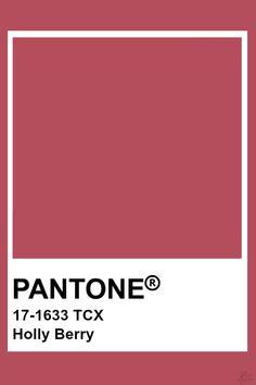 Pantone Colour Palettes, Pantone Color, Red Colour Palette, Colour Schemes, Pantone Tcx, Passion Deco, Color Harmony, Paint Colors For Home, Color Swatches