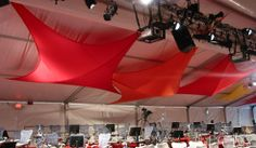 Soaring Bird | Stretch Shape | Fabric Ceiling Treatment | Pink Inc. Creative Fabric Solutions