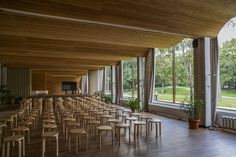 AD Classics: Viipuri Library,The restored lecture hall. Image © Flickr user ninara